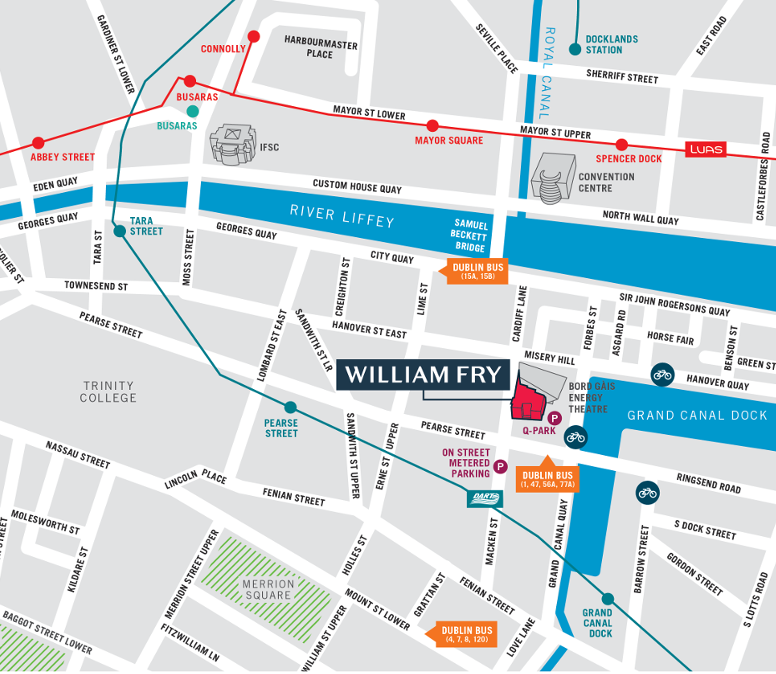 How To Find Us William Fry