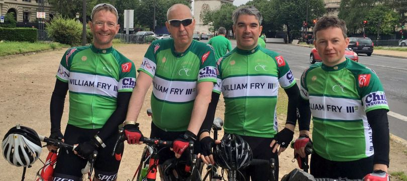 William Fry Mustard Seed Cycle Team