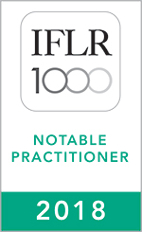 IFLR1000 (2018) Notable practitioner
