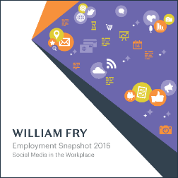 Employment Snapshot 2016 - Social Media in the Worlplace